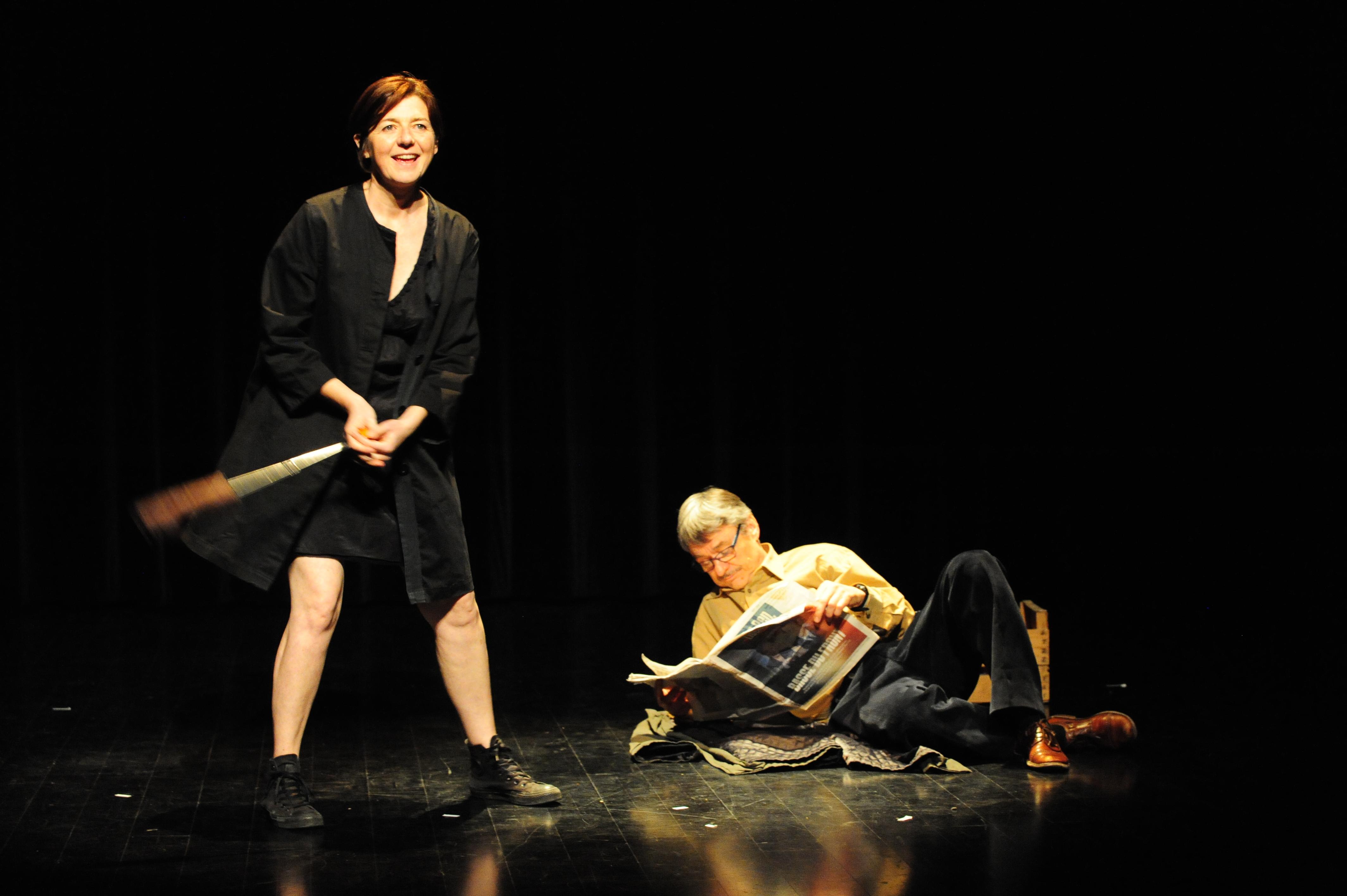 """Pinter's, un spectacle de la compagnie """"La fiancée du pirate"""" - Crédit photo M. Charpentier"""
